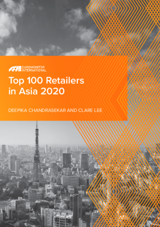 Euromonitor International - Top 100 Retailers in Asia 2020